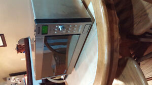 Stainless Steel Full Size Microwave