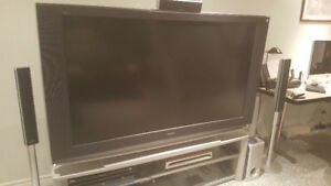 "SONY 60"" LCD rear projection HD"