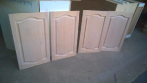 Solid wood cabinet doors $50 for all