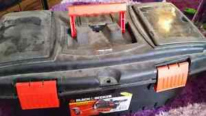 Tool Box with Tools  Check out the Pictures  Would cost over 150