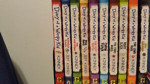 Books 1-10 diary of a wimpy kid