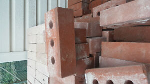1000x Red bricks , 1000x Brique rouge