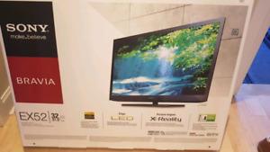 "TV Sony 32"" EX52 full HD 1080p LED Wireless internet HDMI"