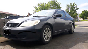 2005 Honda Civic 5spd Coupe Need Gone