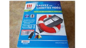 Sauvez vos cassettes video