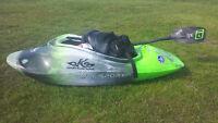 Lost Whitewater kayak