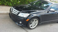 2009 Mercedes-Benz C350 4MATIC Black