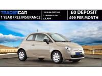 Fiat 500 1.3 Multijet 2014 POP - FREE INSURANCE