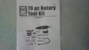 79pc Rotary Tool Kit