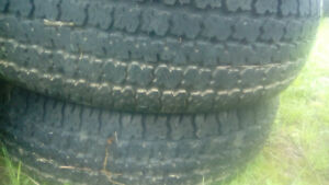Two  195 75 14 winter tires.