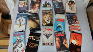 VHS Movies – The LOT For $20.00
