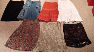 7 skirts, size 5-6