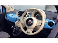 2015 Fiat 500 1.2 Lounge 3dr Manual Petrol Hatchback