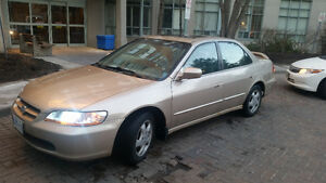 2000 Honda Accord, Fully Loaded, Low Km, Excellent Condition