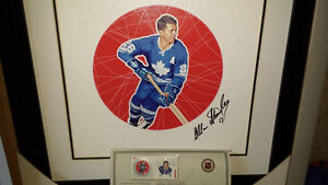 NHL ALL STARS Pack including autographed lithograph