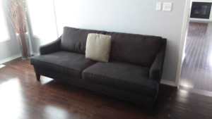DECOR-REST COUCH AND 2 SINGLE CHAIRS WELL MADE NEED A CLEANING