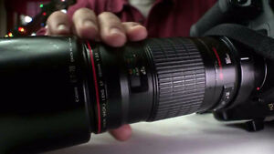 Canon EF 180mm F/3.5L MACRO USM L lens GREAT CONDITION!