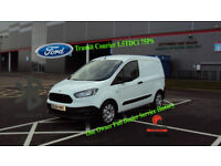 2014 TRANSIT COURIER 1.5TDCi 75PS WHITE DEISEL VAN