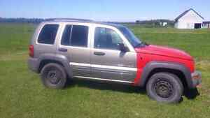 Jeep liberty 2003 2004 pieces