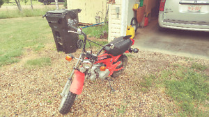 1982 honda mini trail ct 70 street bike