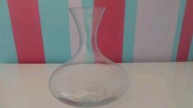 Wine carafe, clear glass - LSA international