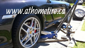 OnSite Mobile tire service Flat repairs/new /installation