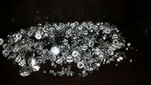 Hundreds of fake diamonds - decorating