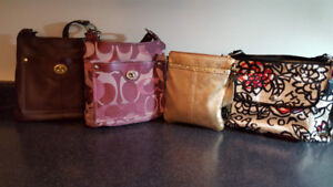 Moving - Multiple Coach, Prada and Louis Vutton hand/body purses