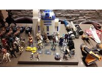 Star Wars figures and vehicles etc