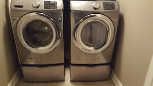 Samsung Washing Machine and Gas Dryer