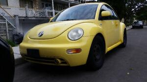 New beetle 1999 bas milage