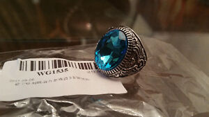 Vintage Ring 316L Stainless Steel Design Stone