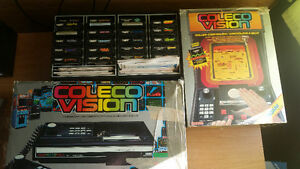 Colecovision 23 Jeux/Games, 2 Controllers/Manettes + Roller
