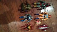 7 VINTAGE THUNDER CATS ACTION FIGURES FOR SALE