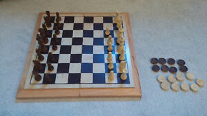 Chess/Checkers Set