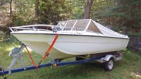 1978 Tempest Bow Rider, 85HP  Mercury Outbaord and Trailer