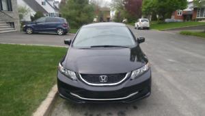 Honda civic 2014 à vendre
