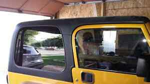 Hardtop for a jeep tj