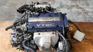 JDM H23A bluetop 200hp longblock engine prelude accord vtec