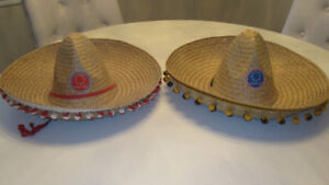 Two Expo 67 Sombreros
