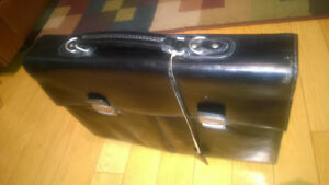 Black Leather Briefcase Danier Original