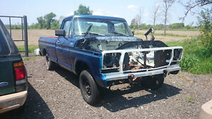 1979 Ford F-100 Rolling Chassis