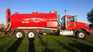 Liquid manure vac truck for sale