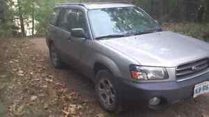 2005 Subaru Forester for sale AS IS Peterborough Peterborough Area image 2