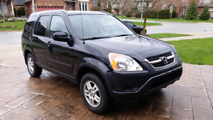 2002 Honda CR-V CERTIFIED Clean SUV  CARPROOF ACCIDENT FREE!!