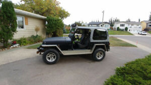 Sold already 1989 Jeep Other YJ  4.2L  5 spd  4x4