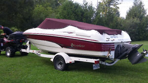 2002 Silverline Bowrider 18.5 ft