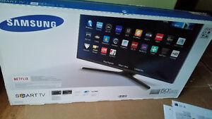 "Brand New sealed Samsung 50"" 1080p LED Smart TV."