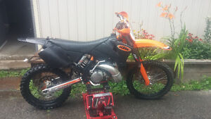 2002 Ktm 250 SX (XC GEARING) Good condition. Lots of extras. Peterborough Peterborough Area image 10
