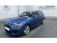 BLUE BMW 1 SERIES 1.5 116D M SPORT 5D 114 BHP DIESEL *BUY FROM £56 PER WEEK*